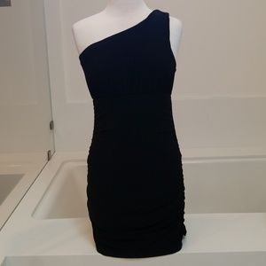 Bebe little black cocktail dress size L